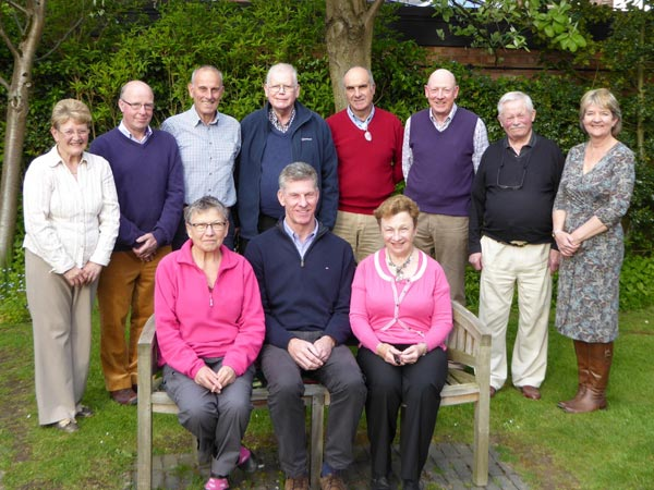 2015 Trustees with Clerk to the Trustees (far right) and Chair Can. Michael Parker (centre)